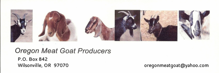 Oregon Meat Goat Producers